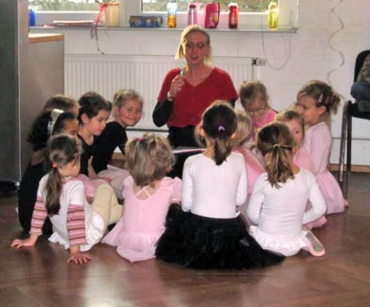 Ballett - Jazzdance - Moderndance mit Esther Buchholz