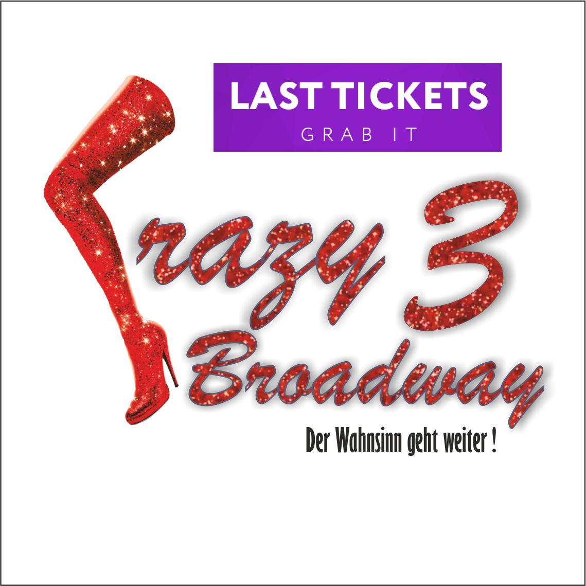 07.03.2020 – 19.00 Uhr – Crazy Broadway 3