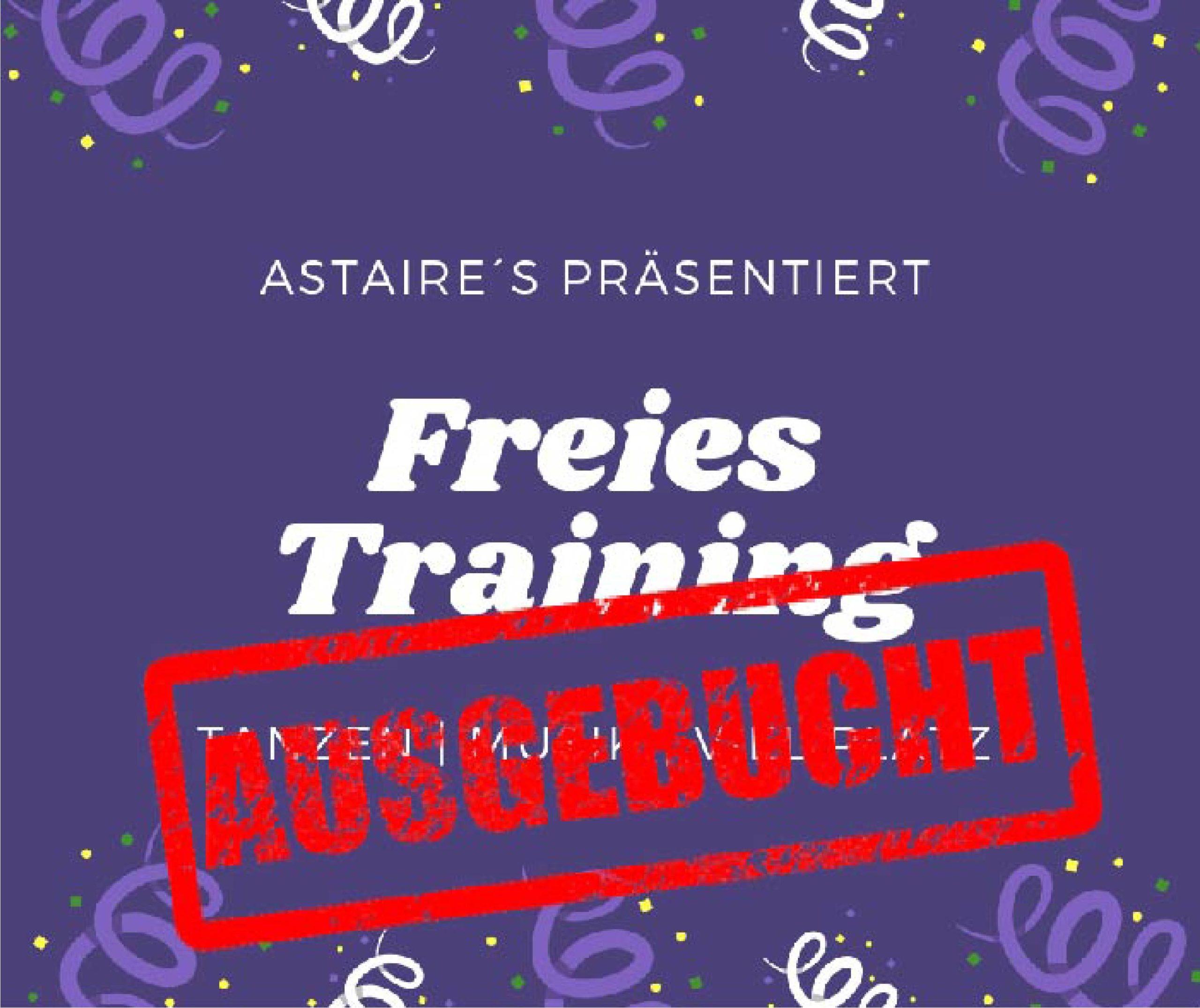 Freies Training Di, 11.05.2021