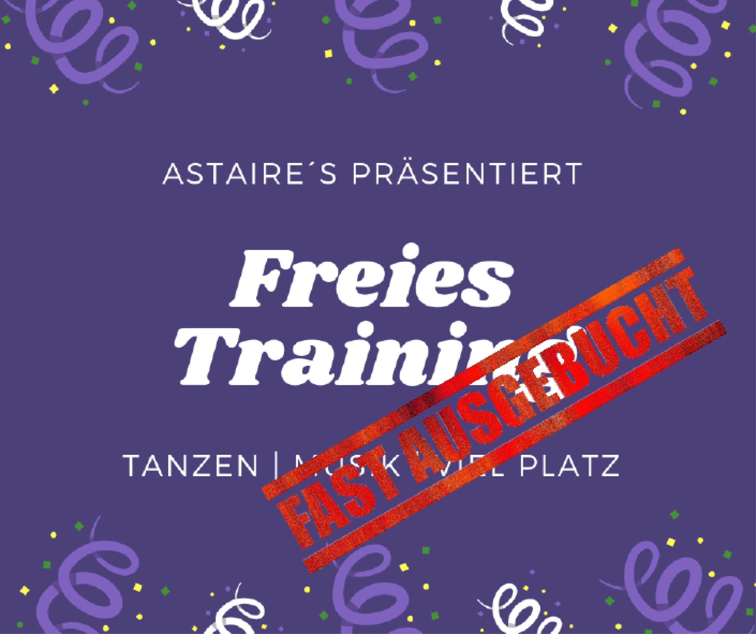Freies Training Mo, 01.03.2021